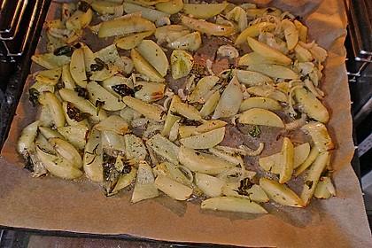 Mediterrane 24 h - Ofen - Kartoffelecken 10