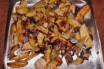 Mediterrane 24 h - Ofen - Kartoffelecken 18
