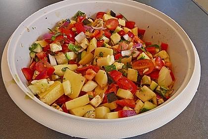 Mediterrane 24 h - Ofen - Kartoffelecken 4