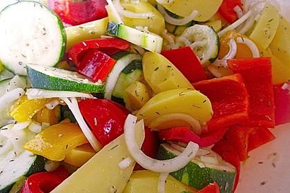 Mediterrane 24 h - Ofen - Kartoffelecken 5