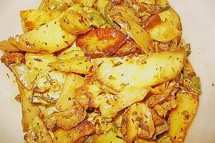 Mediterrane 24 h - Ofen - Kartoffelecken 11