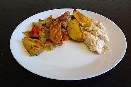 Mediterrane 24 h - Ofen - Kartoffelecken 7