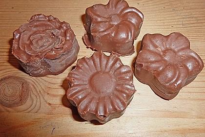 Frosting / Glasur mit Schokolade und Sahne 16