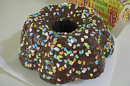 Frosting / Glasur mit Schokolade und Sahne 9