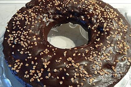 Frosting / Glasur mit Schokolade und Sahne 1