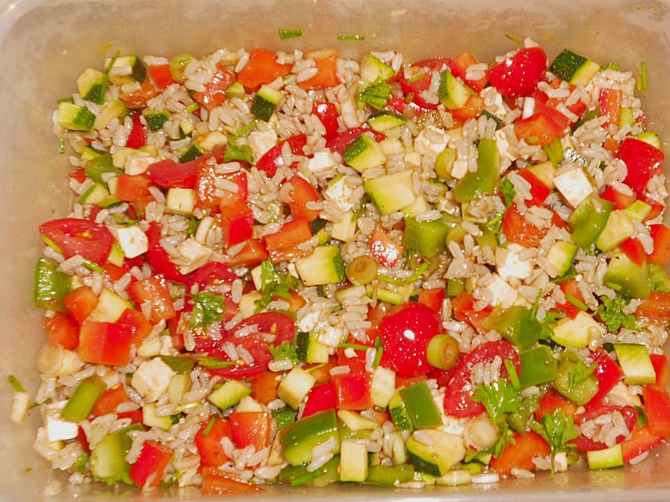 Sommerküche Chefkoch : Sommerlich leichter reissalat von calorine chefkoch