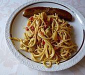 Spaghettisalat mit Pute
