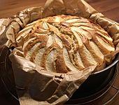 Apfelkuchen schnell und einfach (Bild)