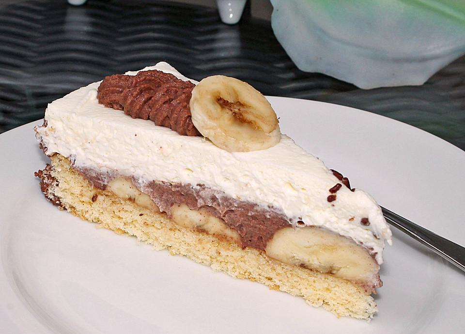 bananen schoko torte rezept mit bild von malakan fisch. Black Bedroom Furniture Sets. Home Design Ideas