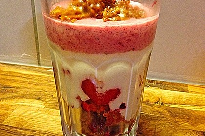 4 Schicht - Frucht - Joghurt - Dessert 8
