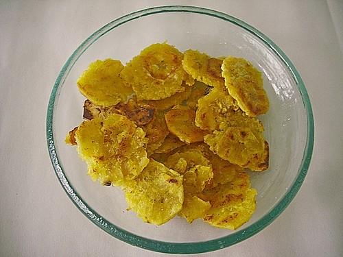 Frittierte kochbanane kolumbianische art 1