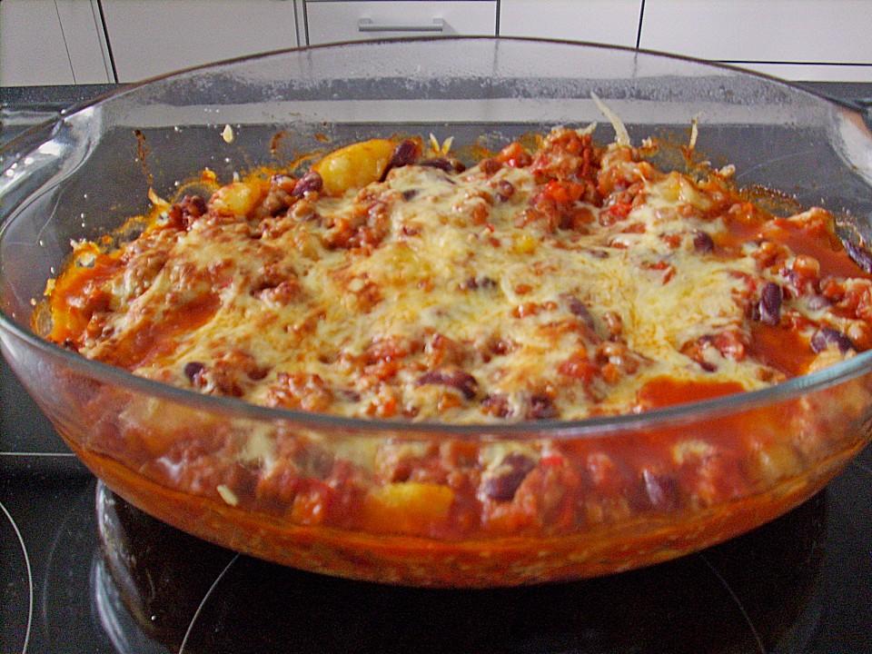 chili con carne auflauf rezept mit bild von heddu. Black Bedroom Furniture Sets. Home Design Ideas
