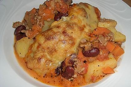 Chili con Carne - Auflauf 4