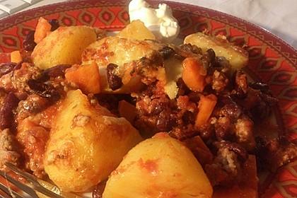 Chili con Carne - Auflauf 1