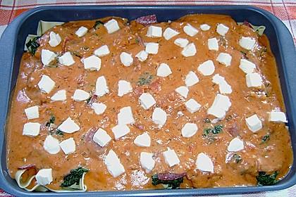 Spinat-Käse-Auflauf 15