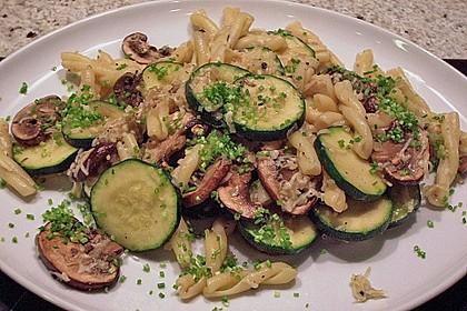Zucchini - Champignon - Pfanne 9