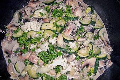 Zucchini - Champignon - Pfanne 28