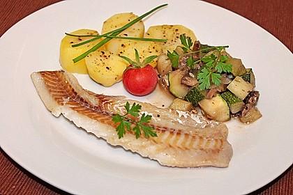 Zucchini - Champignon - Pfanne 4