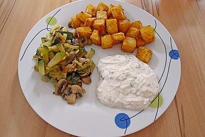 Zucchini - Champignon - Pfanne 10