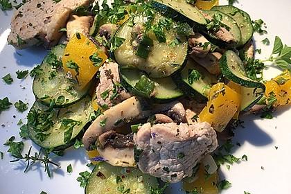 Zucchini - Champignon - Pfanne 26