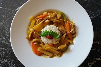 Schnelles Thai-Curry mit Huhn, Paprika und feiner Erdnussnote 18