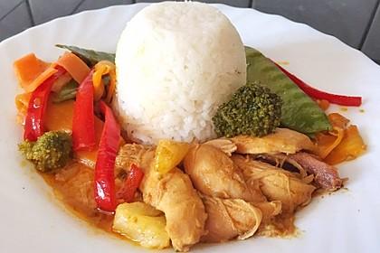 Schnelles Thai-Curry mit Huhn, Paprika und feiner Erdnussnote 4