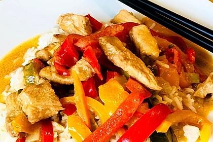Schnelles Thai-Curry mit Huhn, Paprika und feiner Erdnussnote 63