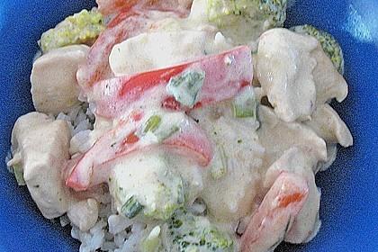 Schnelles Thai-Curry mit Huhn, Paprika und feiner Erdnussnote 160