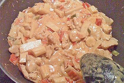 Schnelles Thai-Curry mit Huhn, Paprika und feiner Erdnussnote 168
