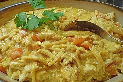 Schnelles Thai-Curry mit Huhn, Paprika und feiner Erdnussnote 98