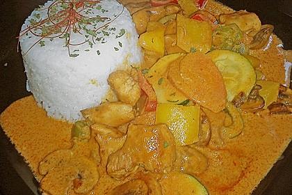 Schnelles Thai-Curry mit Huhn, Paprika und feiner Erdnussnote 77