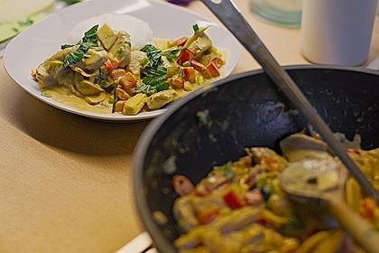 Schnelles Thai-Curry mit Huhn, Paprika und feiner Erdnussnote 27