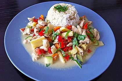 Schnelles Thai-Curry mit Huhn, Paprika und feiner Erdnussnote 23