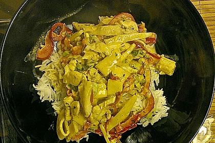 Schnelles Thai-Curry mit Huhn, Paprika und feiner Erdnussnote 129