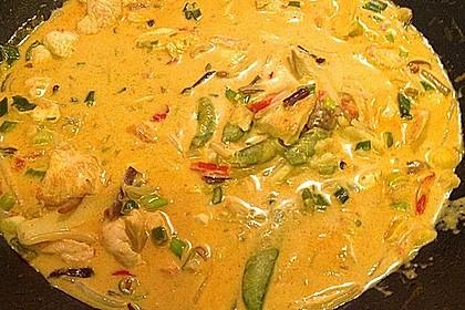Schnelles Thai-Curry mit Huhn, Paprika und feiner Erdnussnote 20