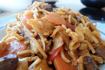 Schnelles Thai-Curry mit Huhn, Paprika und feiner Erdnussnote 55