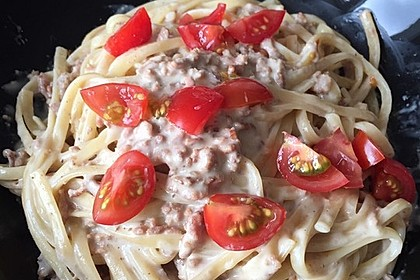 Weiße Bolognese