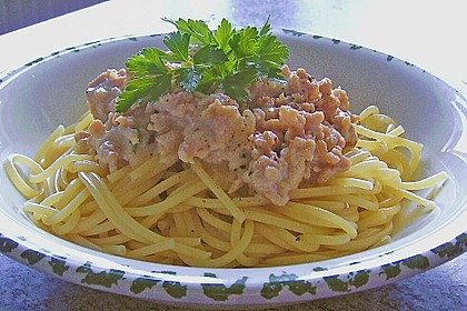 Weiße Bolognese 3