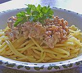 Weiße Bolognese (Bild)