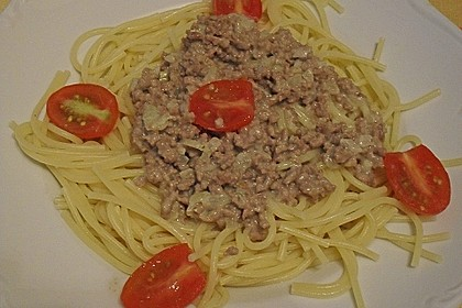Weiße Bolognese 8