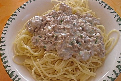 Weiße Bolognese 2