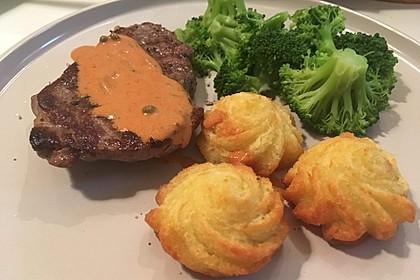Steak in Pfeffersauce 20