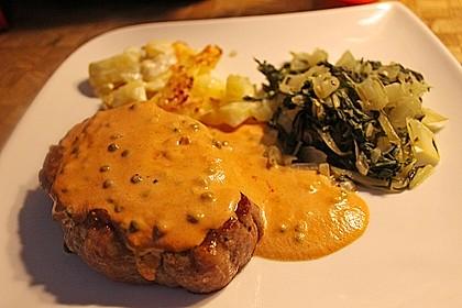 Steak in Pfeffersauce 2