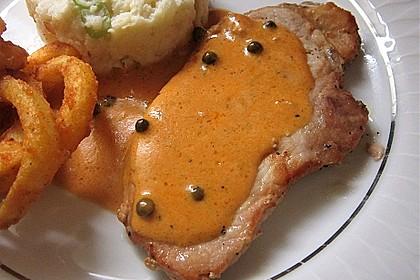 Steak in Pfeffersauce 6