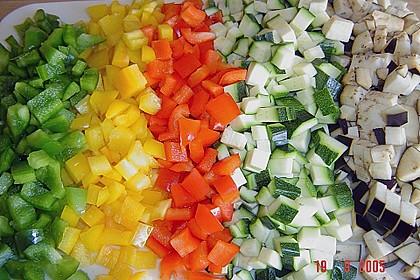 Gemüse - Bolognese zu Spaghetti 3