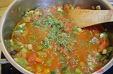 Gemüse - Bolognese zu Spaghetti
