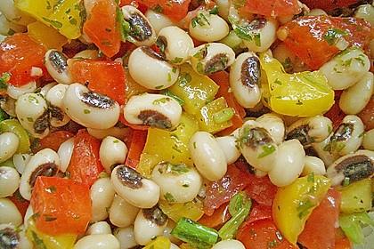 Salat aus Schwarzaugenbohnen 1
