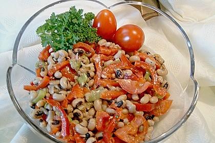 Salat aus Schwarzaugenbohnen 2