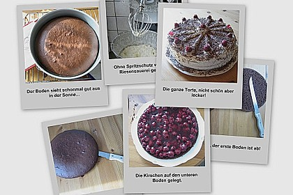 Schwarzwälder Kirschtorte - super easy 120