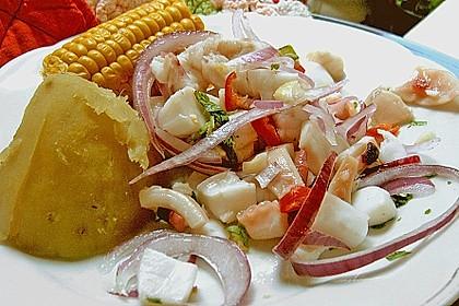Cebiche ( peruanische Spezialität ) 1